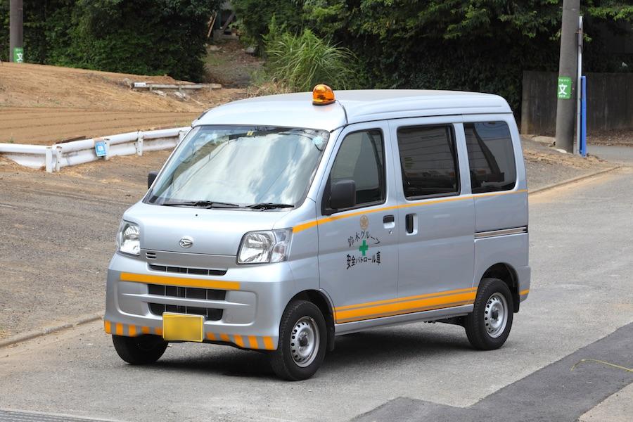 安全パトロール車02
